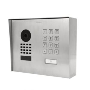 DoorBird D1101KHV2A-M Modern Surface Mount Stainless Steel IP Video Door Station