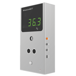 WatchNET Temperature Detection Station with Voice and Light Alarm