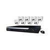 WatchNET HD over Coax Kit with 16 CH DVR 2TB HDD + 8 x 1080p IR Turret Cameras