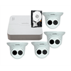 Uniview IP Camera Bundle, 4 Channel NVR, 1TB HDD with 4 x 2MP Turrets*