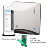 Alula Connect+ Alarm System with AT&T Canada Cell, ZWave, Touchpad Link