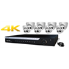 WatchNet IP Camera Kit, 16CH NVR 4K Ready 2TB HDD + 8 x 4MP IR Turret Cameras
