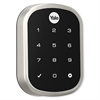 Yale ProSL Touch Screen Slim Key Free ZWave Deadbolt, Satin Nickel