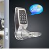 Codelocks Smart Lock with Netcode, Mifare Reader, Brushed Steel