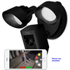 Ring Floodlight Cam, HD Camera with Motion Activated Floodlight, Black